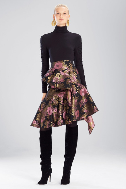 Buy Josie Natori Deco Jacquard Skirt from