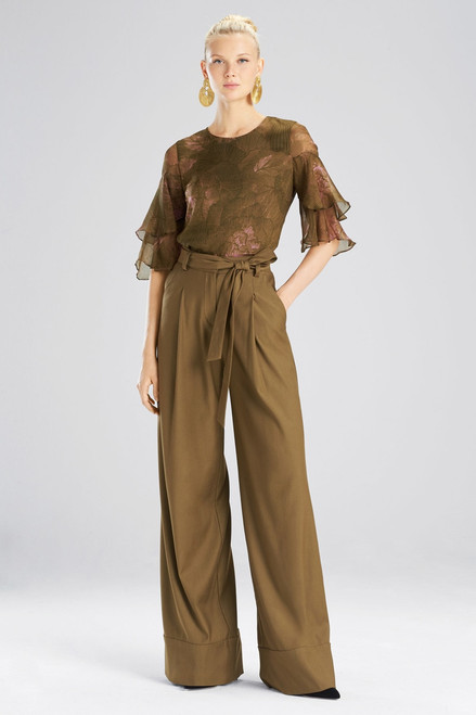 Buy Josie Natori Stretch Twill Pants from