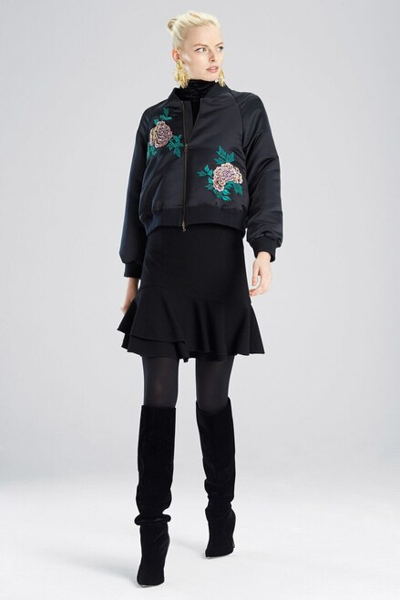 Buy Josie Natori Duches Satin Jacket from