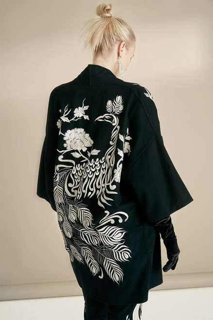 Josie Natori Felt Wool Jacket at The Natori Company