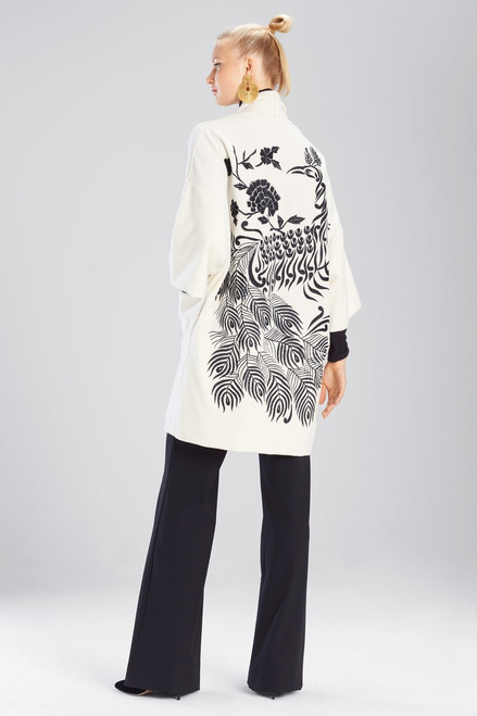 Buy Josie Natori Felt Wool Jacket from
