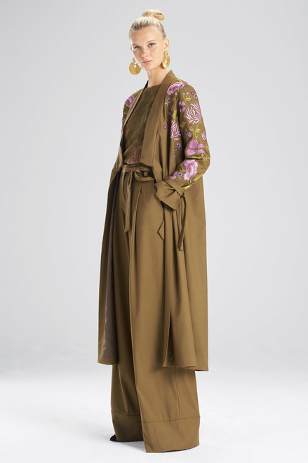Buy Josie Natori Stretch Twill Jacket from