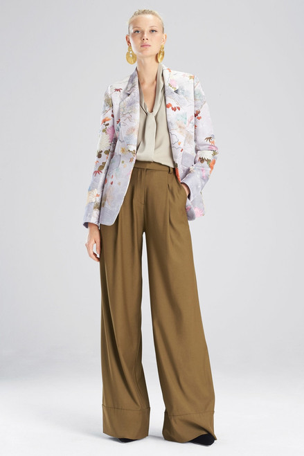 Buy Josie Natori Japonais Jacquard Jacket from