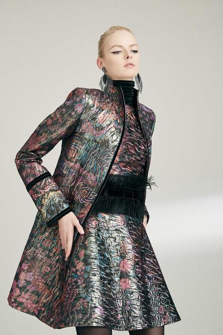 Josie Natori Bohemia Garden Jacquard Jacket at The Natori Company