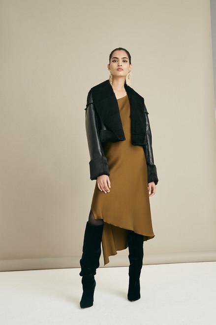 Josie Natori Shearling Jacket at The Natori Company