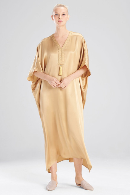 Buy Josie Natori Key Essentials Embroidered Caftan from