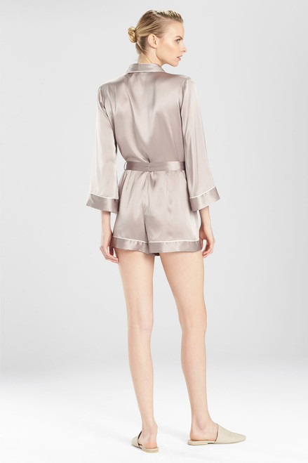 Josie Natori Key Essentials Romper at The Natori Company