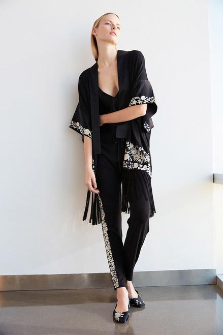 Josie Natori Adorn Robe at The Natori Company