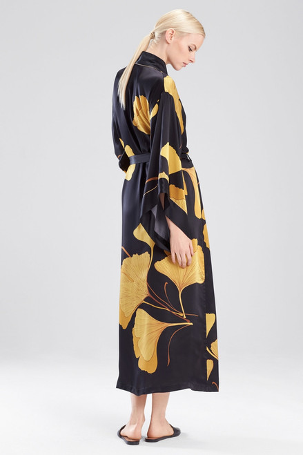 Josie Natori Ginkgo Robe at The Natori Company