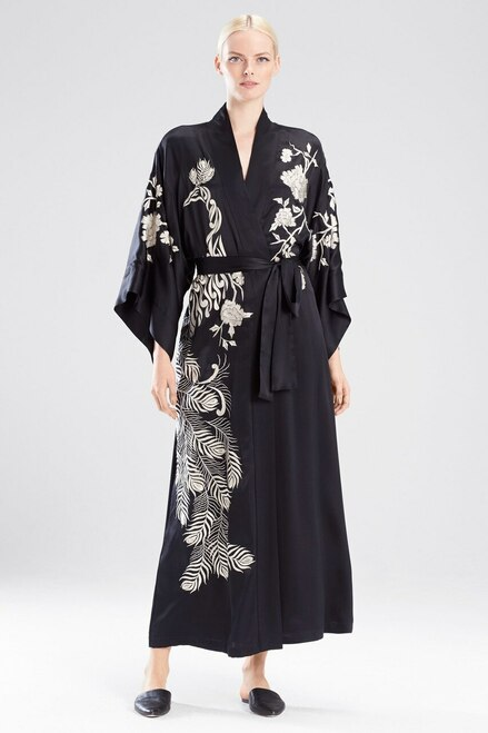 Buy Josie Natori Peacock Embroidery Robe from
