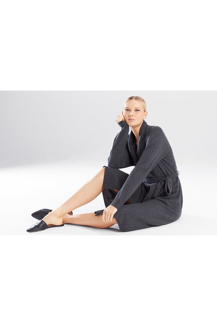 Josie Natori Silk/Cashmere Robe at The Natori Company