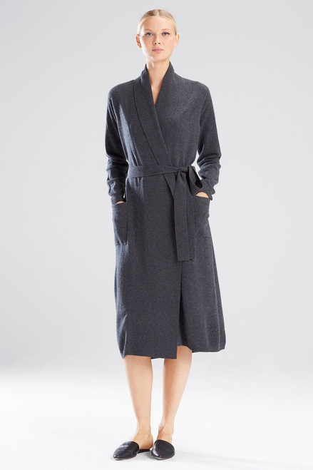 Buy Josie Natori Silk/Cashmere Robe from