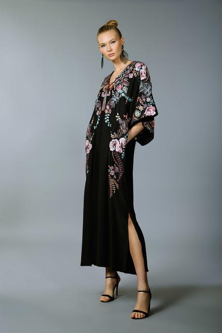 Josie Natori Couture Scarf Print Caftan at The Natori Company