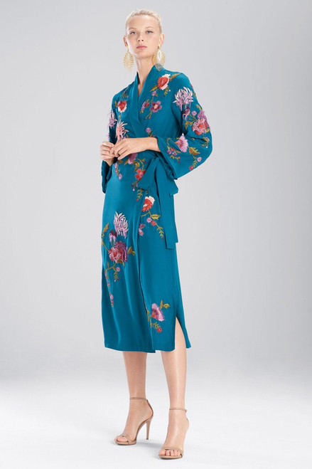Buy Josie Natori Couture Fringe Floral Robe from
