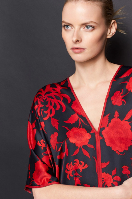 Natori Japonisme Caftan at The Natori Company