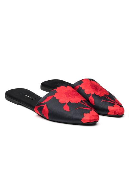 Buy Natori Satin Mules from