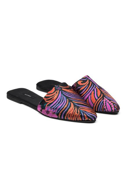 Buy Natori Nouveau Silk Mules from