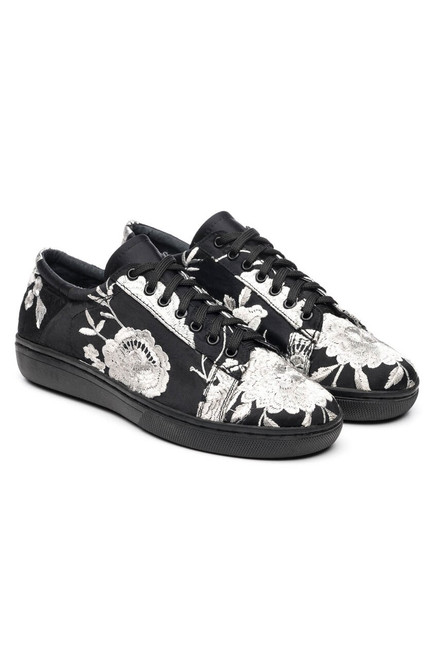 Buy Natori Embroidered Sneakers from