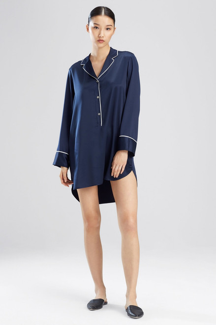 Buy Natori Feathers Satin Essentials Sleepshirt from