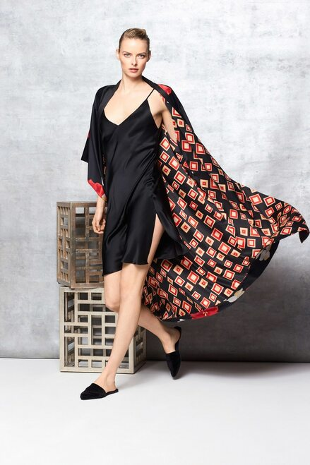 Natori Ginza Reversible Robe at The Natori Company