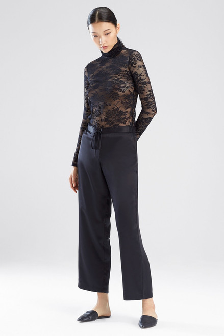 Buy Natori All Over Lace Turtleneck Top from