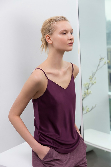 Feathers Satin Elements Cami at The Natori Company