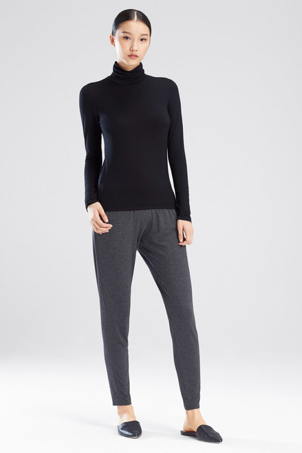 Natori Feathers Element Turtleneck Top at The Natori Company