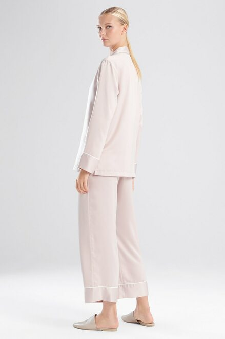 Natori Feathers Satin Essentials PJ at The Natori Company