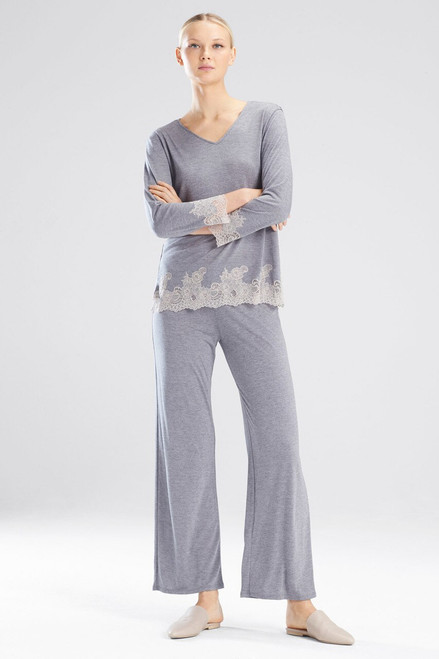 Buy Natori Luxe Shangri-La Long Sleeve PJ from