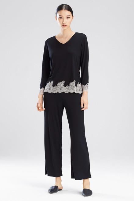 Buy Natori Luxe Shangri-La Long Sleeve PJ from
