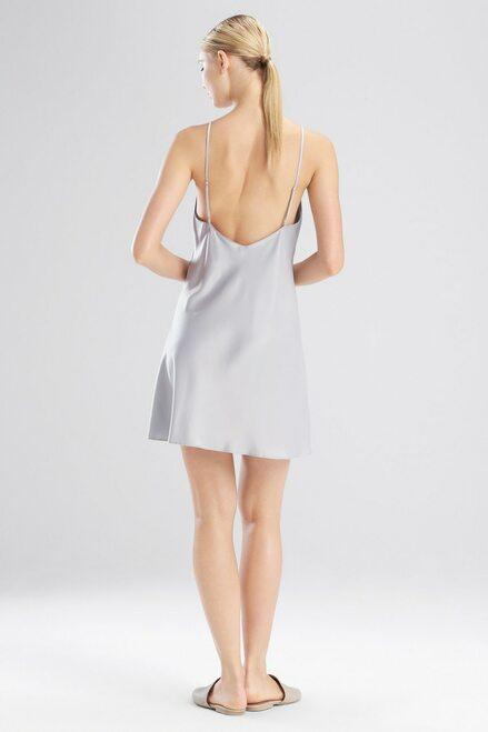 Natori Feathers Satin Elements Chemise at The Natori Company