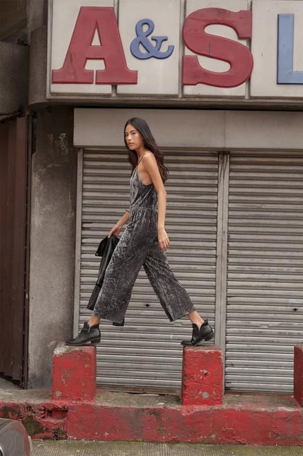 Josie Velvet Crush Jumpsuit at The Natori Company
