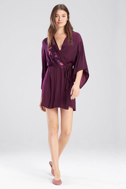 Buy Josie Bardot Satin Embroidered Wrap from