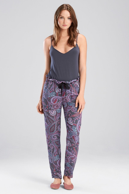 Buy Josie Nomad City Pants Charcoal/Pink from