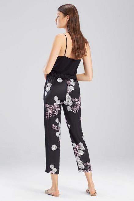 Josie Freestyle Pants Black/Pink at The Natori Company