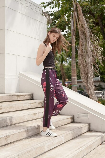 Josie Freestyle Pants Purple/Pink at The Natori Company