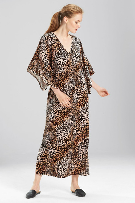 Buy N Natori Lush Leopard Caftan from