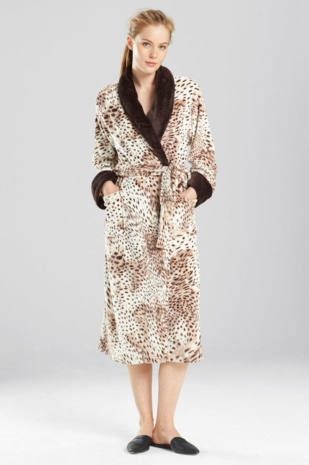 Buy N Natori Snow Leopard Robe from