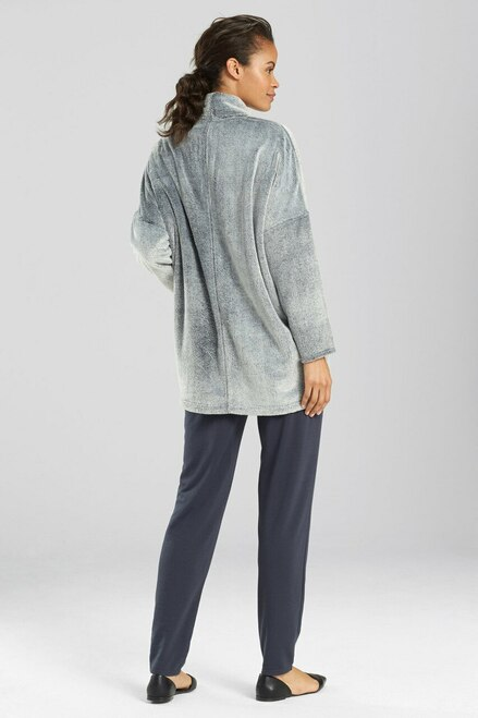 N Natori Frosted Casmere Fleece Jacket at The Natori Company