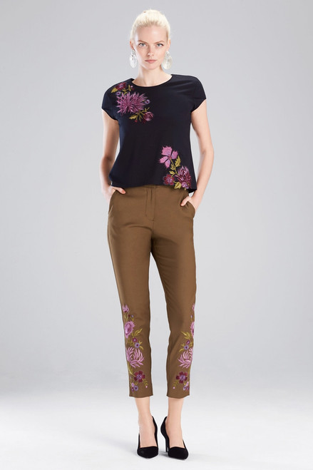 Buy Josie Natori Novelty Tees T-Shirt With 3D Embroidery  from