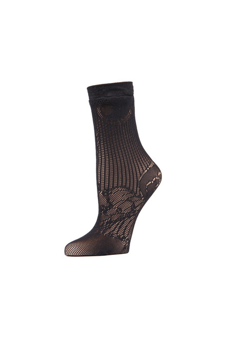 Buy Natori Plume Lace Net Crew Socks from