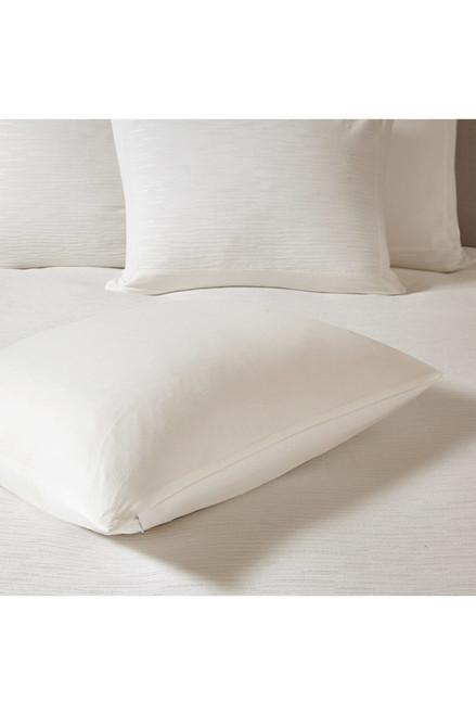 N Natori Hanae White Duvet Cover Set at The Natori Company
