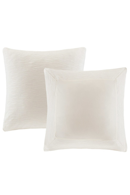 Buy N Natori Hanae White Euro Sham from