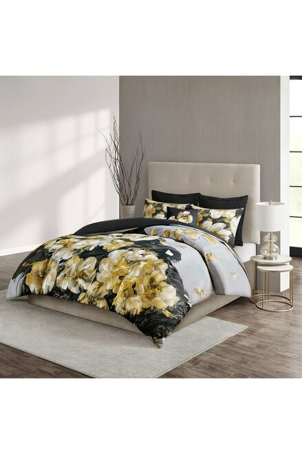 Buy N Natori Casa Noir Duvet Set from
