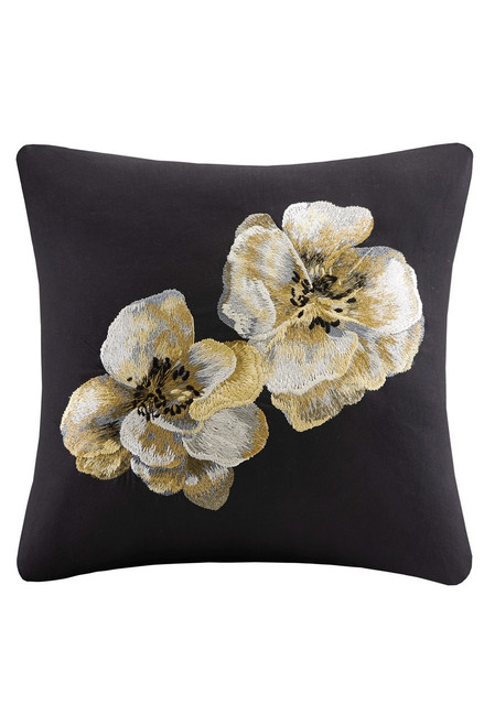 Buy N Natori Casa Noir Embroidered Pillow from