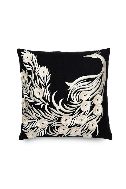 Buy Natori Mayon Peacock Embroidery Pillow from
