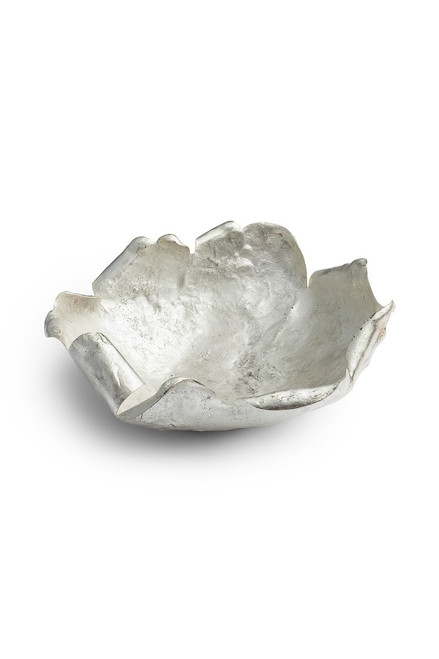 Buy Natori Samar Silver Plated Small Bowl from