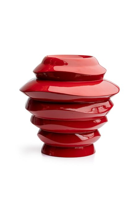 Buy Natori Manila Large Red Vase from