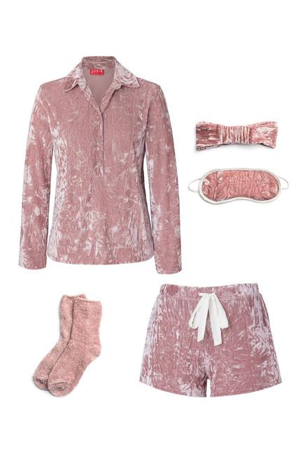 Buy Josie Velvet Crush PJ Gift Set - Rosewood from