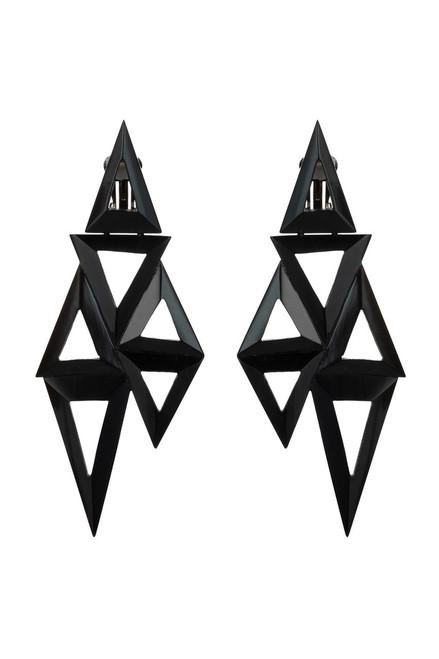 Buy Horn Triangle Geo Earrings from